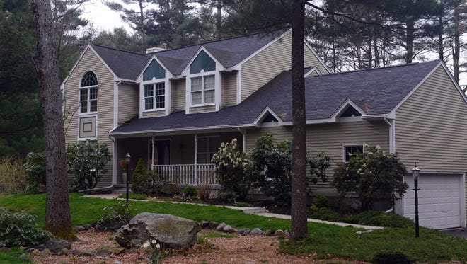 The home of Warren and Judith Russell, where their daughter Katherine, the widow of Tamerlan Tsarnaev, is staying.