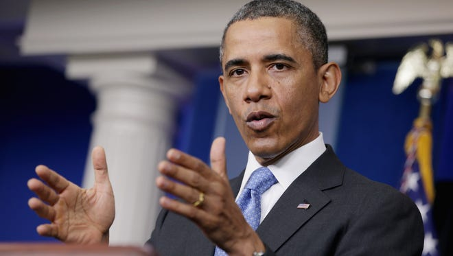 President Obama hold press conference April 30.