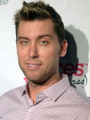 Lance Bass in March.