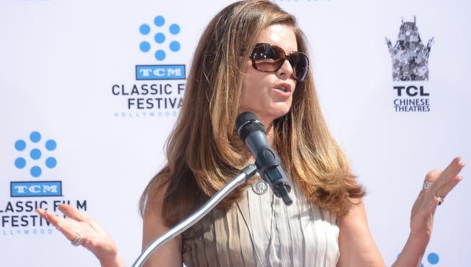 Maria Shriver in Los Angeles on April 27.