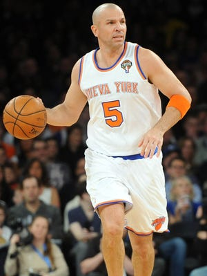 Jason Kidd and the Knicks finished with a 54-28 record in the regular season.