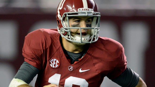 Alabama quarterback AJ McCarron says he's always wanted to drive at high speeds on a Sprint Cup track, and he's soon going to have the chance.