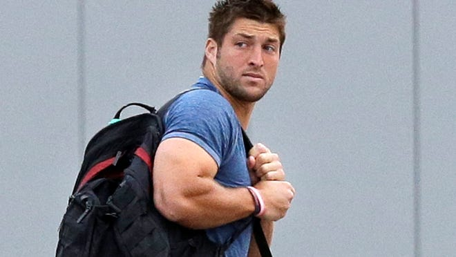 Tim Tebow  cleared waivers Tuesday and has become a free agent.