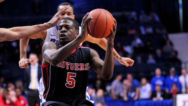 Eli Carter looks for a shot Feb. 16 against DePaul. He was injured later in this game and missed the rest of the 2012-13 season.