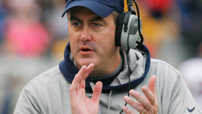 Pittsburgh coach Paul Chryst dismissed two of three football players Tuesday who were arrested in conjunction with a drug raid.
