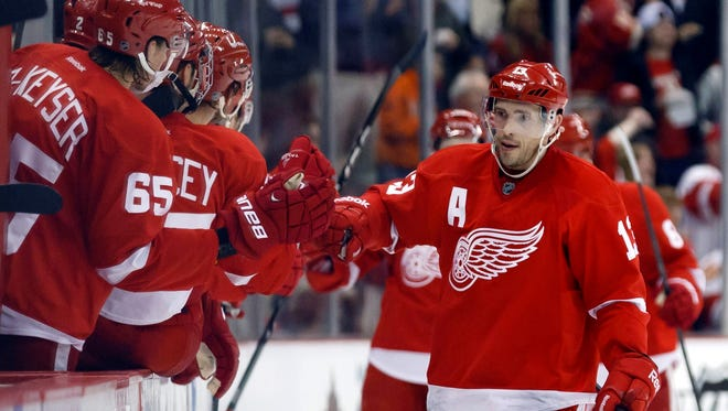 Pavel Datsyuk can be a free agent after the 2013-14 season.