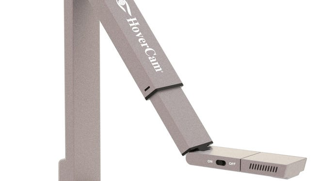 The HoverCam Mini 5 is a portable scanner that doubles as a webcam.