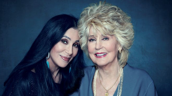 Cher and her mother, Georgia Holt.