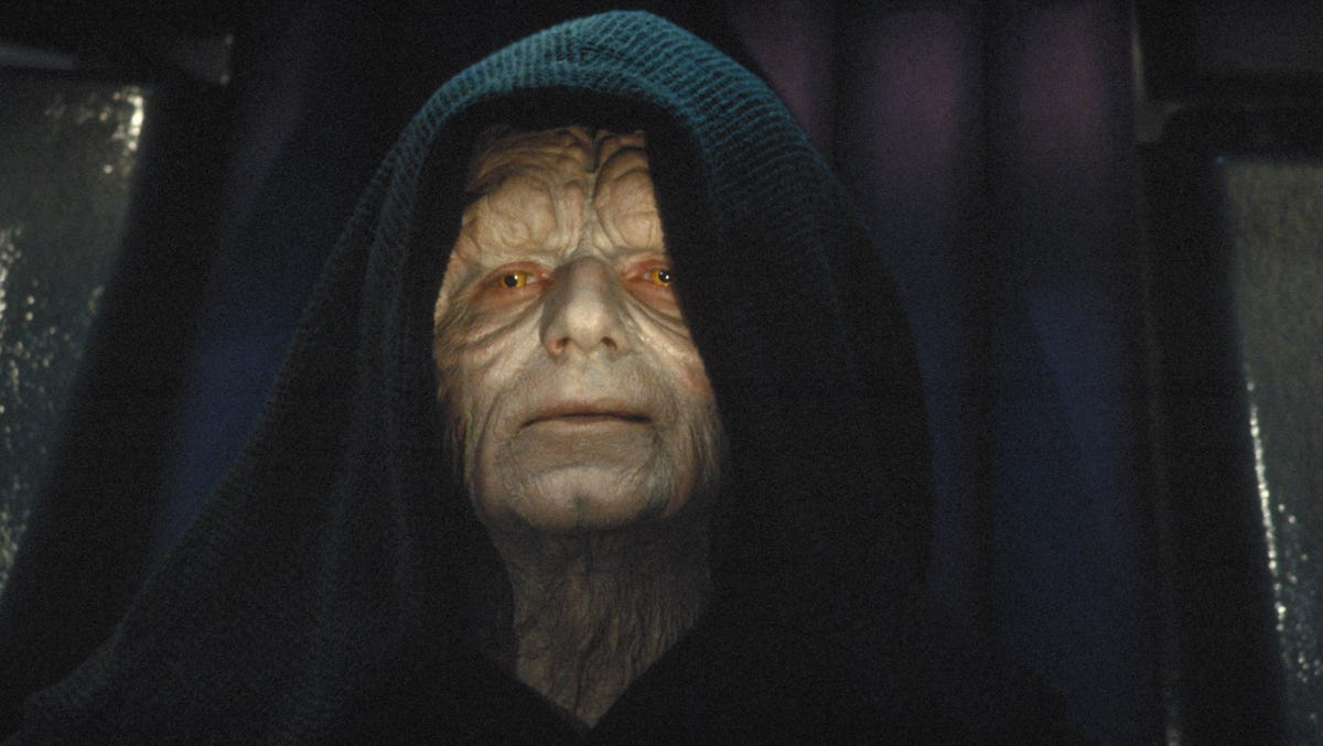 Star Wars' Emperor recalls his first day on the job