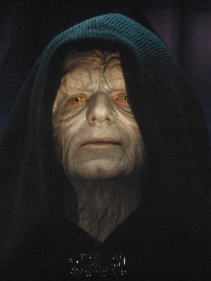 """""""Return of the Jedi"""" star Ian McDiarmid played Emperor Palpatine, the vilest of villains in George Lucas' """"Star Wars"""" universe."""