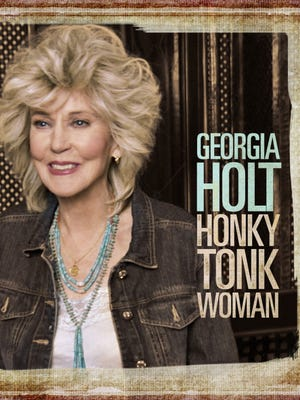 Georgia Holt's 'Honky Tonk Woman' album cover.