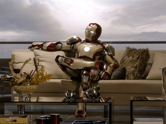 'Iron Man 3': Tony's home