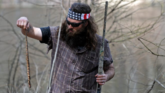 """School officials said the intent of Wednesday's event was to satirize the A&E reality TV show """"Duck Dynasty,"""" which follows a family of duck hunters and entrepreneurs from West Monroe, La."""