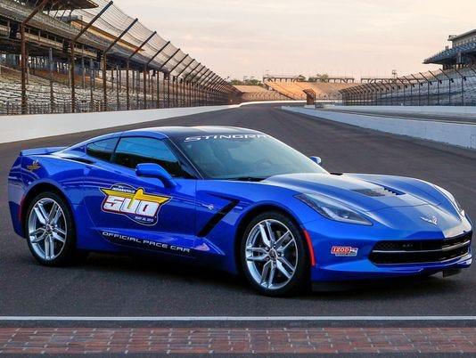 Chevrolet Corvette Stingray Will Pace Indianapolis 500