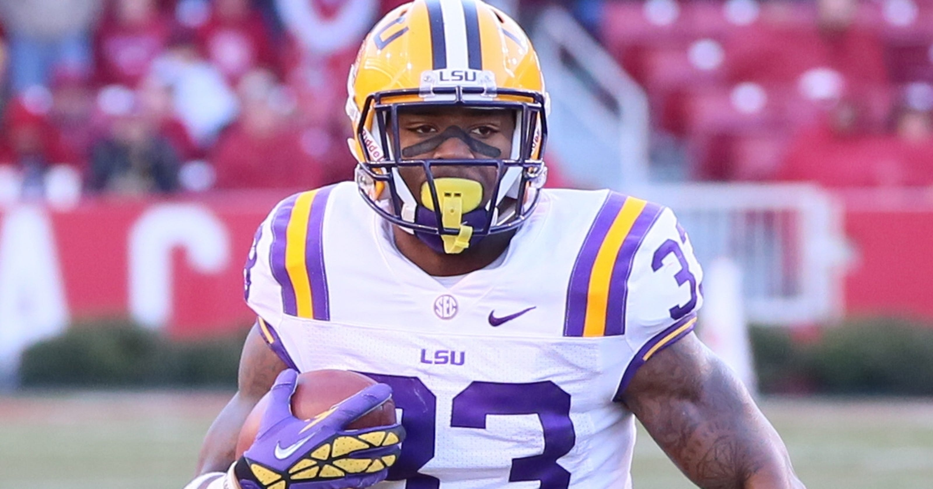 Attorney: LSU's Jeremy Hill was heckled about his past