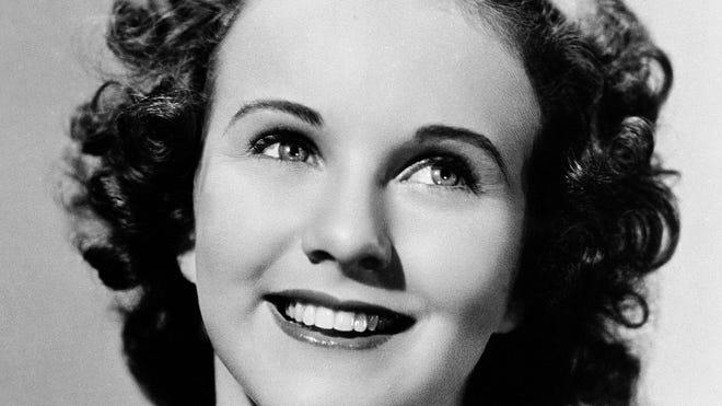 Deanna Durbin, shown in 1937, died last month in France.