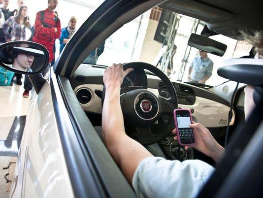 texting driving band