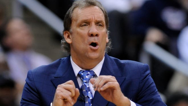 Flip Saunders coached the Timberwolves from 1995-2005, leading them to eight straight playoff appearances, including a run to the Western Conference finals in 2004.