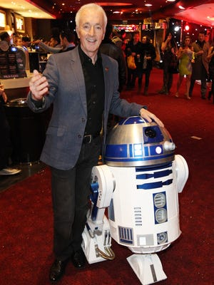 Anthony Daniels spent six films with R2-D2 and has quite a few memories playing protocol droid C-3PO.