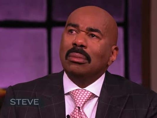 steve harvey gets emotional about mom