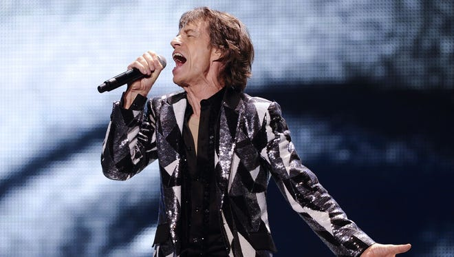 Mick Jagger at the 50 and Counting tour launch May 3, 2013, Los Angeles