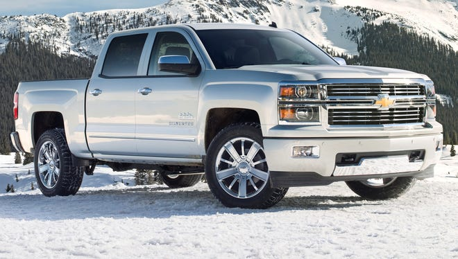 The 2014 Chevrolet Silverado High Country is General Motor's latest deluxe truck entry