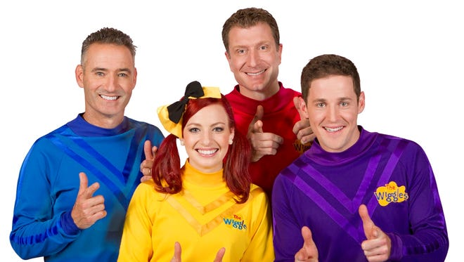 Cast emma wiggles the The Wiggles