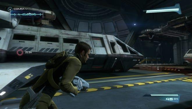 Captain Kirk appears in the 'Star Trek' video game.