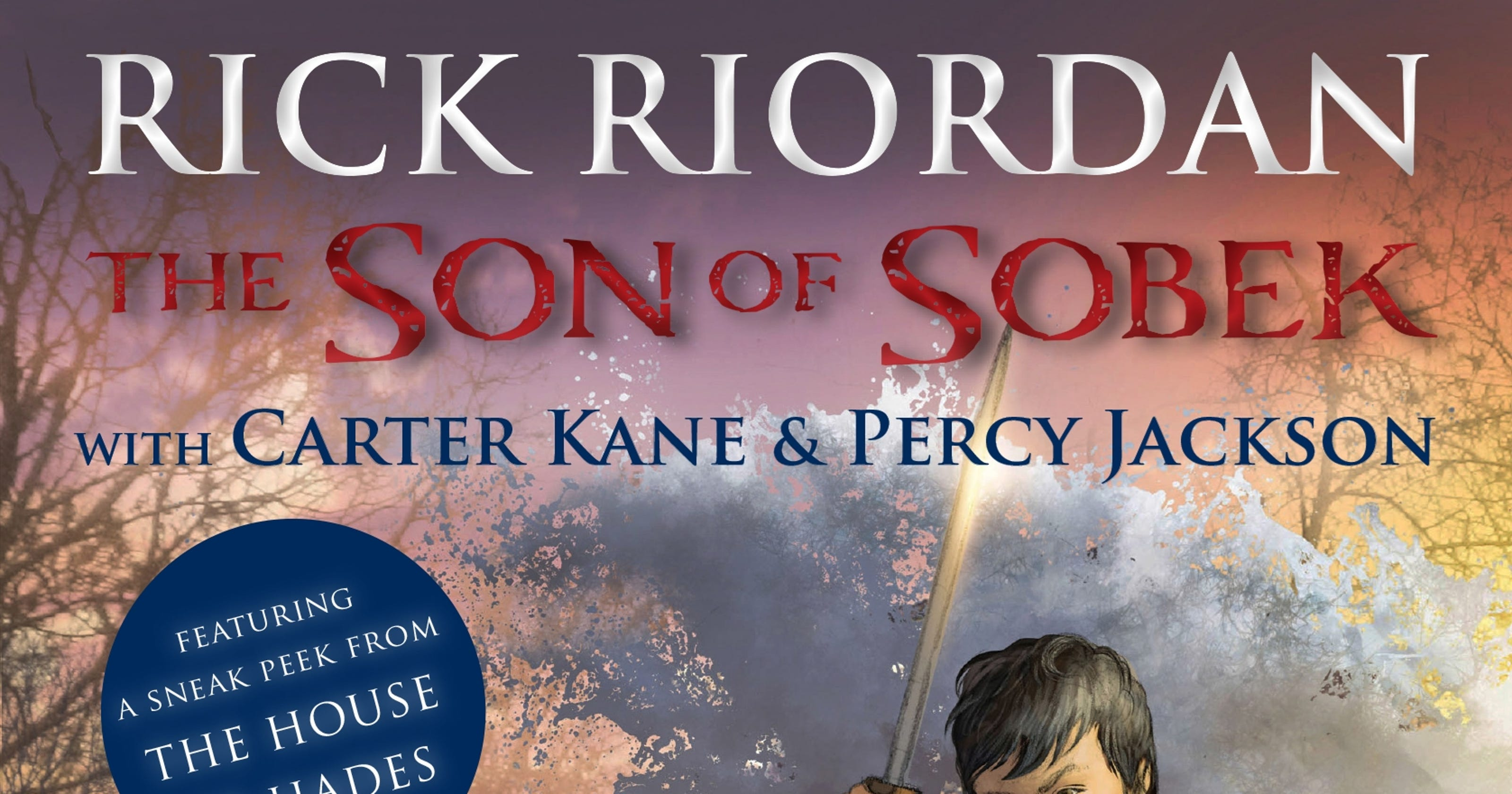 cover reveal rick riordans heroes meet in the son of sobek
