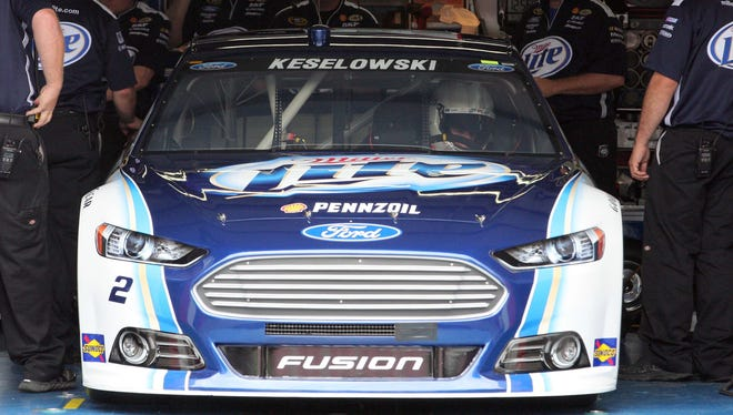Sprint Cup driver Brad Keselowski initially accused winner David Ragan of cheating at Talladega on Sunday, but it was Keselowski who was backtracking on Tuesday with an apology.