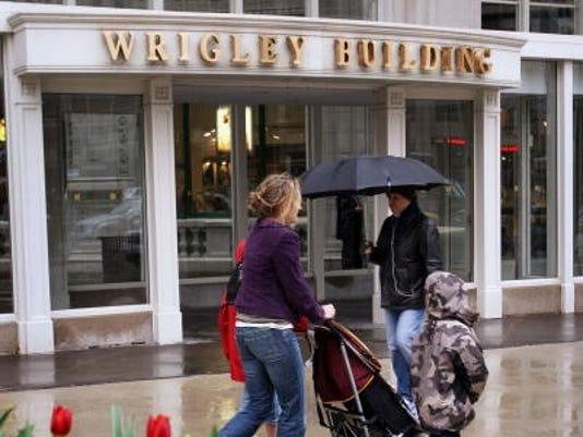 wrigley building 2008