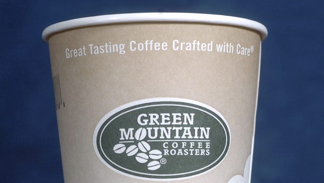 Shares of Green Mountain Coffee Roasters jumped in after-hours trading on earnings.