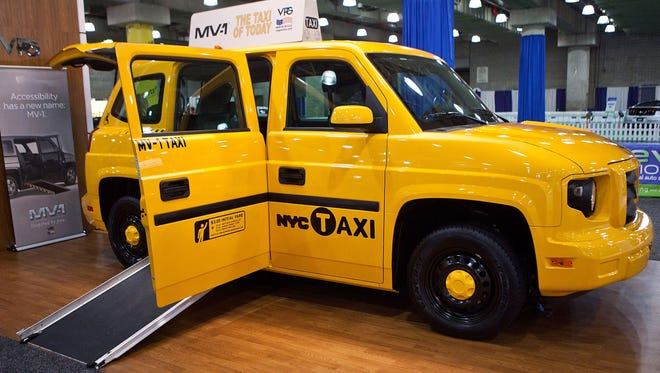 The MV-1, made by Vehicle Production Group (VPG) is introduced at the 2012 New York International Auto Show.