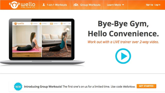 Wello.com is one option for students who don't have time to hit the gym.