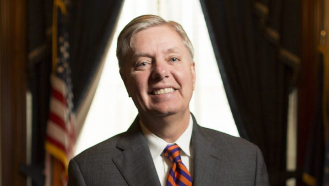 Sen. Lindsey Graham, R-S.C., spoke with USA TODAY on Thursday.