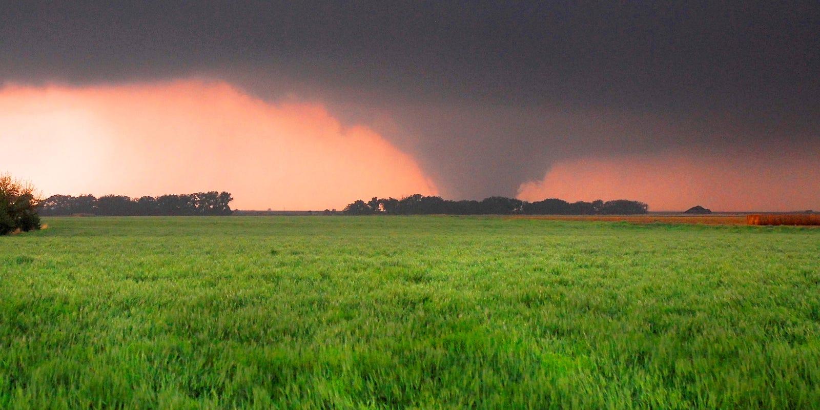 Tornado activity hits 60-year low