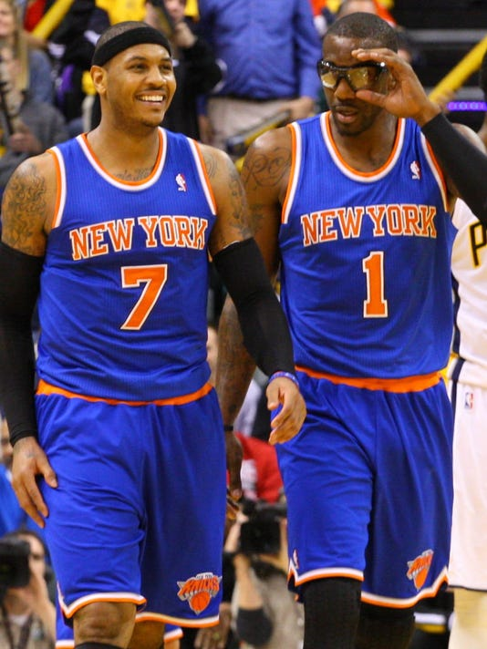 54293789bf6 Amar'e Stoudemire's return could hurt Knicks vs. Pacers