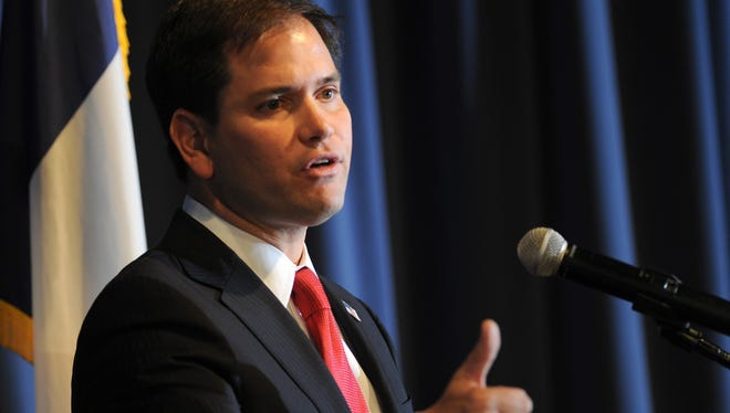 Sen. Marco Rubio, R-Fla., has become the chief salesman of the immigration bill.