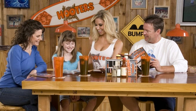 In this year's Mother's Day promotion, Hooters is attempting to bring in more women by offering free entrees for mothers who bring a kid along.