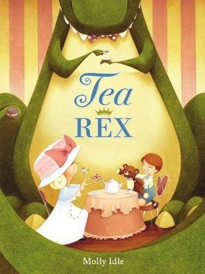 Molly Idle is the author of 'Tea Rex.'