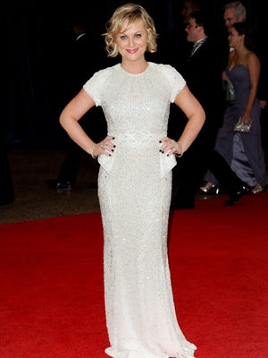 Amy Poehler attends the White House Correspondents' Dinner on April 27 in Washington.