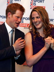 Prince Harry and Missy Franklin