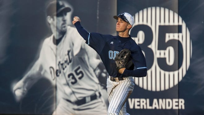 Ben Verlander plays in the shadow of his brother at Old Dominion University.