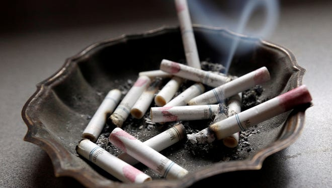 Residue can travel from smoking to non-smoking rooms in hotels, according to a new study.