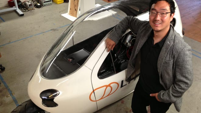 Lit Motors founder Daniel Kim.