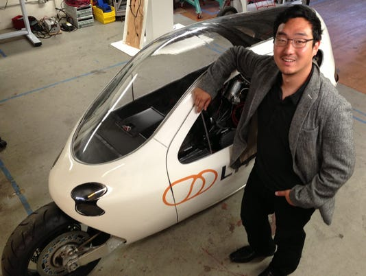 Lit Motors CEO Daniel Kim