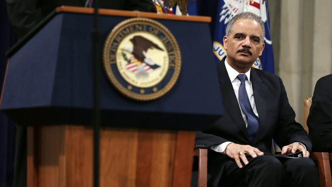 AP CEO Gary Pruitt sent a letter of protest to Attorney General Eric Holder, pictured here.