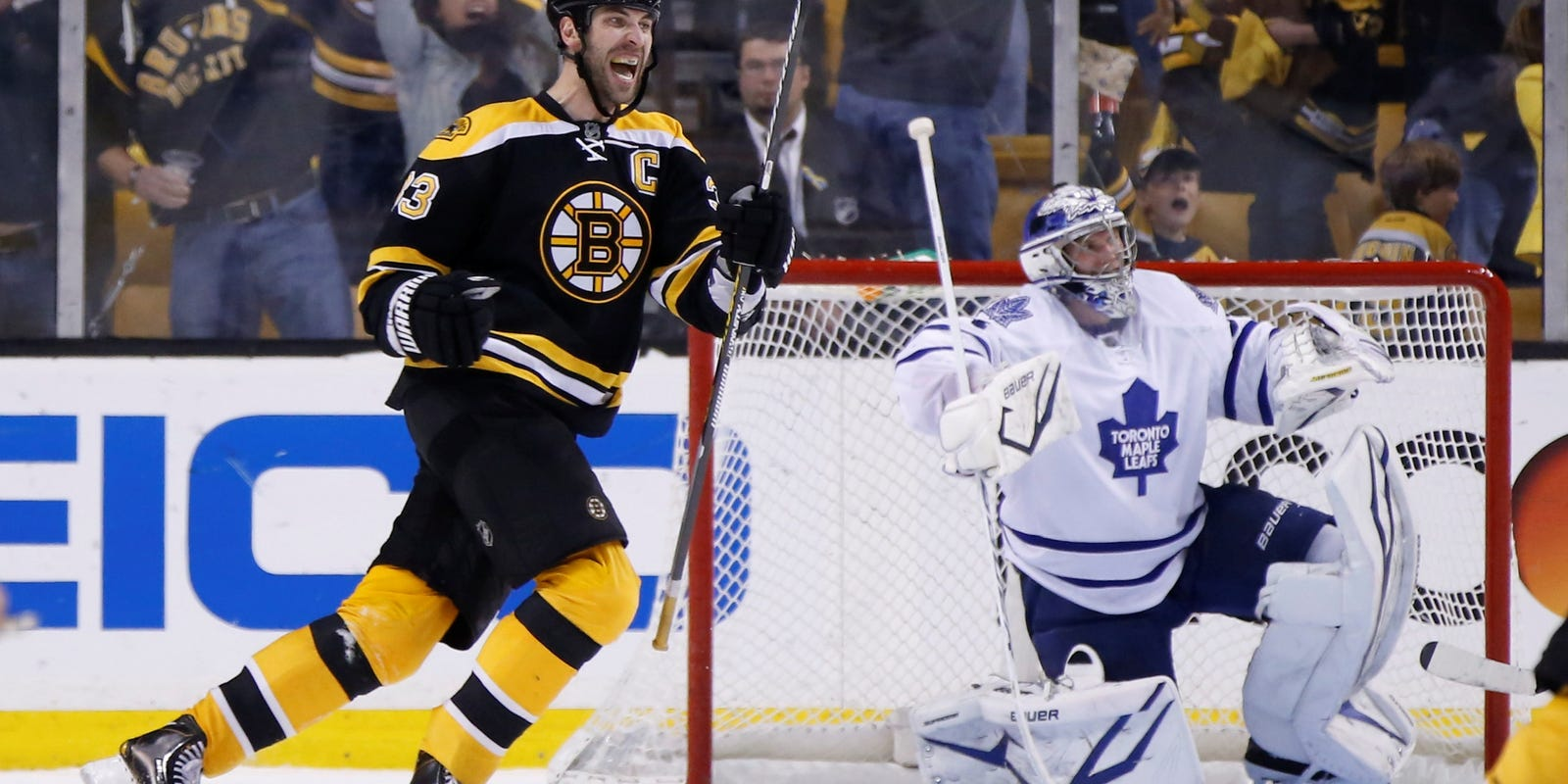 Bruins Stage Historic Rally To Stun Leafs In Ot
