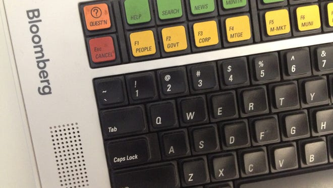 This is a detail of a Bloomberg terminal. [Via MerlinFTP Drop]