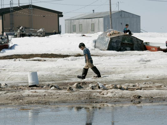Alaska town to vanish by 2017, report says